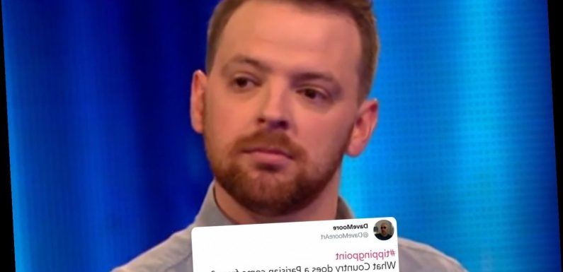 Tipping Point viewers left open-mouthed by contestant's 'shameful' geography blunder in first round