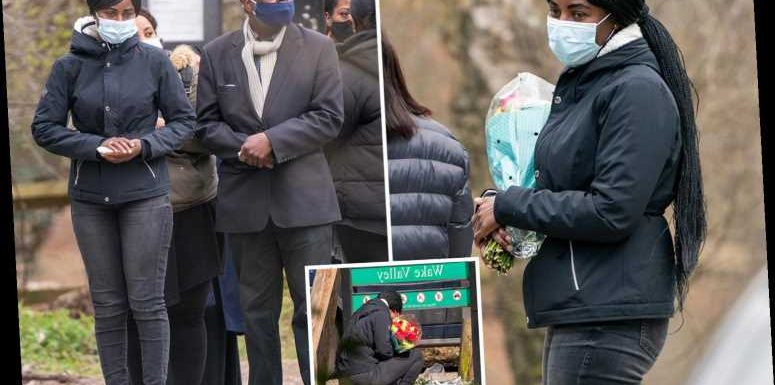 Mum of missing Richard Okorogheye lays flowers in Epping Forest after body found in search for teen