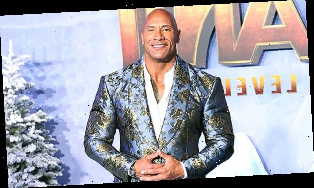 The Rock Reveals His Extremely Muscular Thighs In Short Shorts While Preparing For 'Black Adam' Role