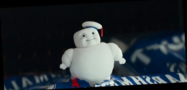 'Ghostbusters: Afterlife' Clip: Paul Rudd Meets Some Mini Stay-Puft Marshmallow Men