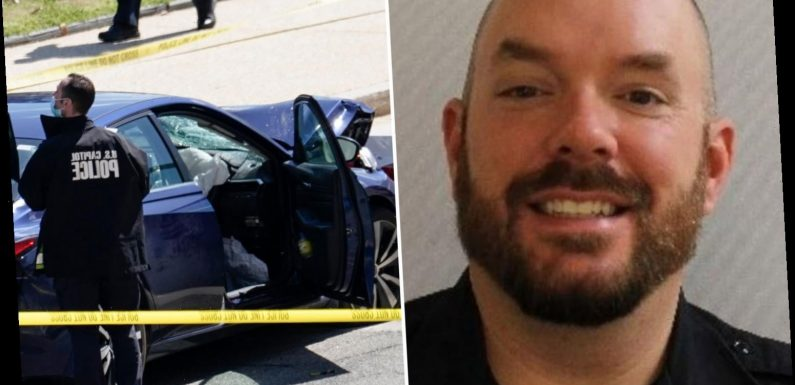 Capitol cop William Evans named as officer killed when knifeman rammed barrier in Good Friday carnage