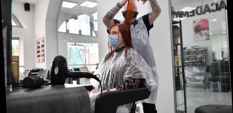 Hairdressers fully booked for up to two weeks after April 12 as Brits face even longer wait to lop off lockdown locks