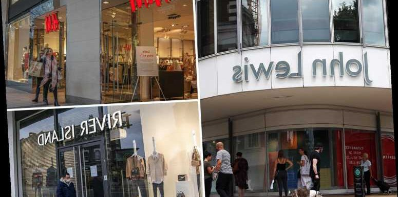 The shops where you CAN try on clothes as they reopen changing rooms next week