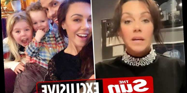 Michelle Heaton and family given all clear from coronavirus after testing positive – a month after she had her first jab