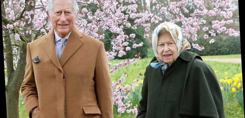 The Queen and Charles pictured side-by-side for the first time since Meghan and Harry's bombshell Oprah interview