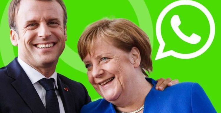EU diplomats JOKED about France and Germany 'taking all Covid jabs' in WhatsApp messages