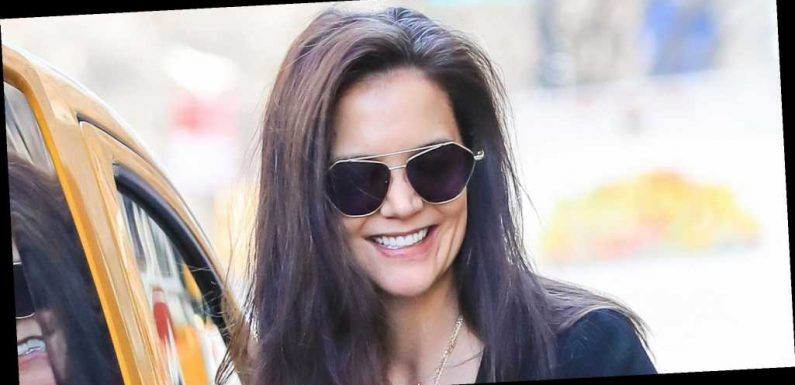 Katie Holmes Has Been Wearing These $80 Sneakers on Repeat