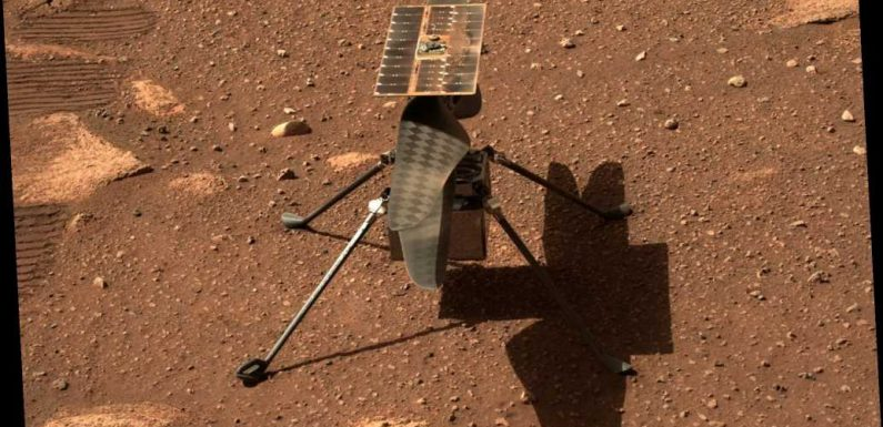 NASA Mars helicopter survives cold Martian night in first step of historic endeavor