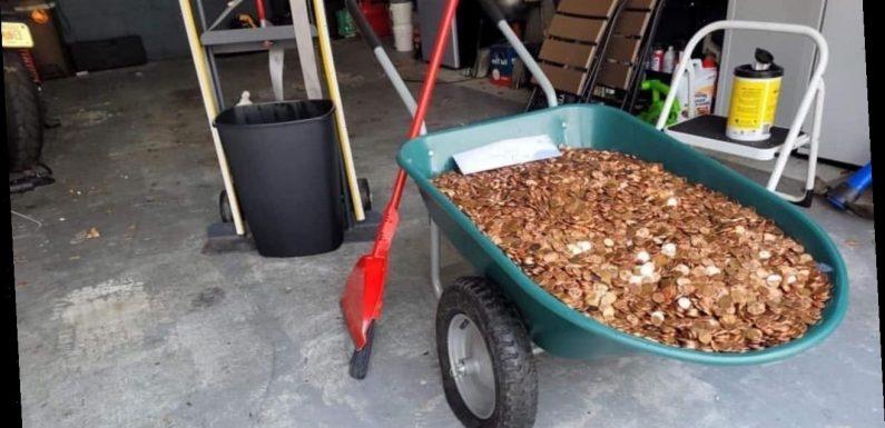 Coinstar fixes Georgia man's oily penny paycheck problem