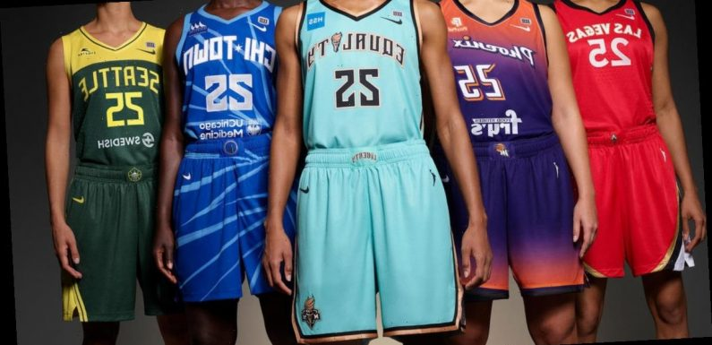 WNBA releases new Nike jersey designs for 25th anniversary