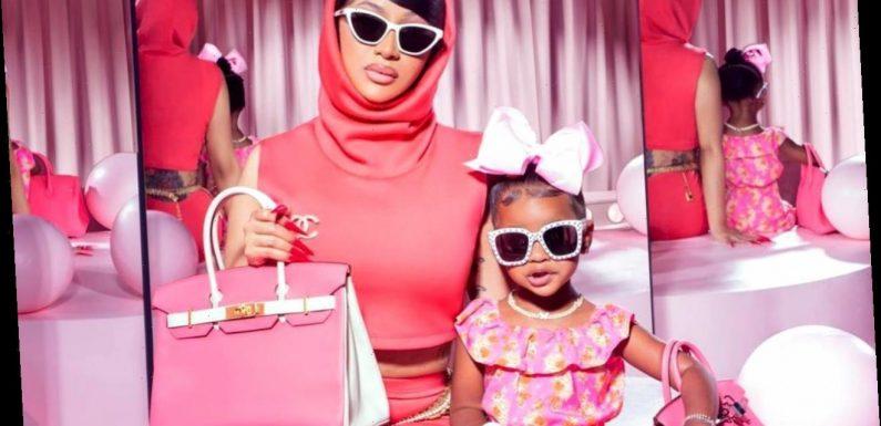Cardi B Goes on Crazy Designer Bag Shopping to Spoil Toddler Daughter