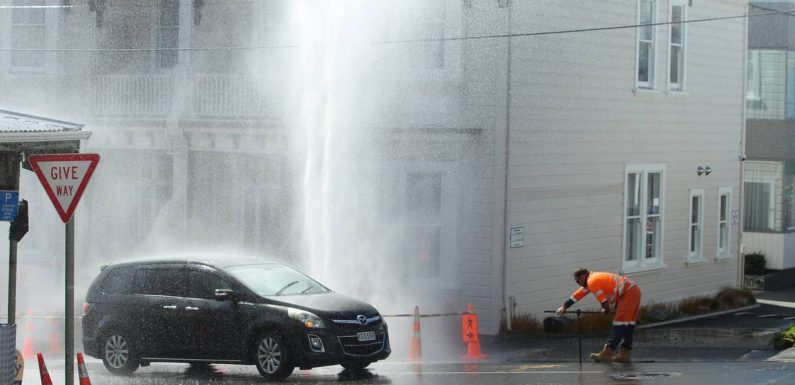 Audit New Zealand warns Wellington City Council is risking more burst pipes