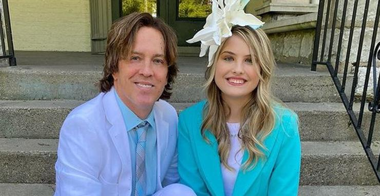 Anne Nicole Smith's Daughter Dannielynn, 14, Looks So Grown Up at Kentucky Derby 2021 with Dad Larry Birkhead!