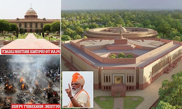 DAVID JONES: Monstrous monument to Narendra Modi's ego