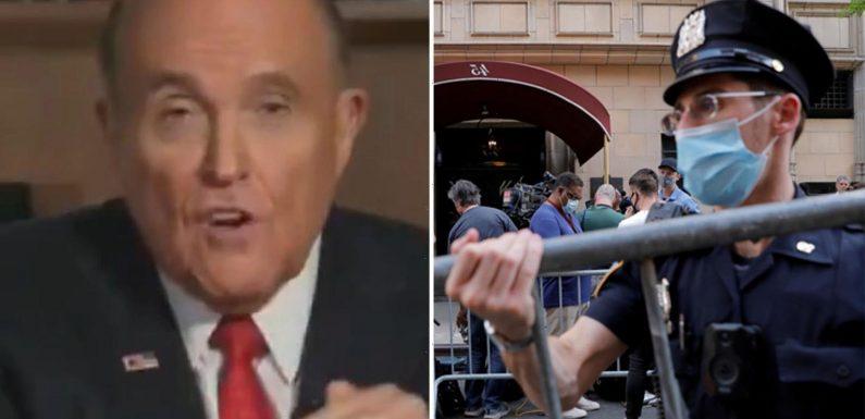 Defiant Rudy Giuliani says feds 'invaded his iCloud' 2 years before FBI raid after slamming NY prosecutors as 'bullies'