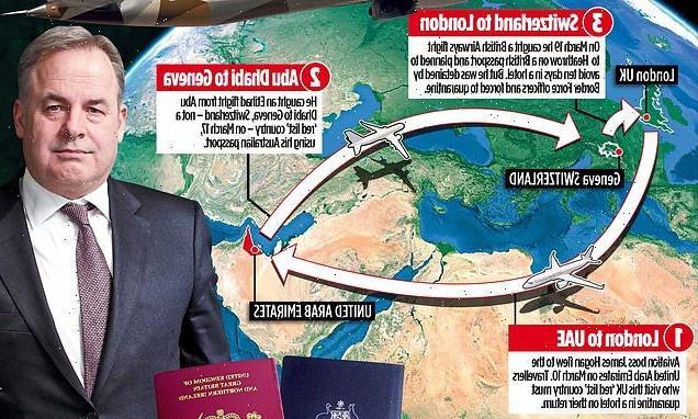 Ex-Etihad boss swapped passport and tried to avoid quarantine