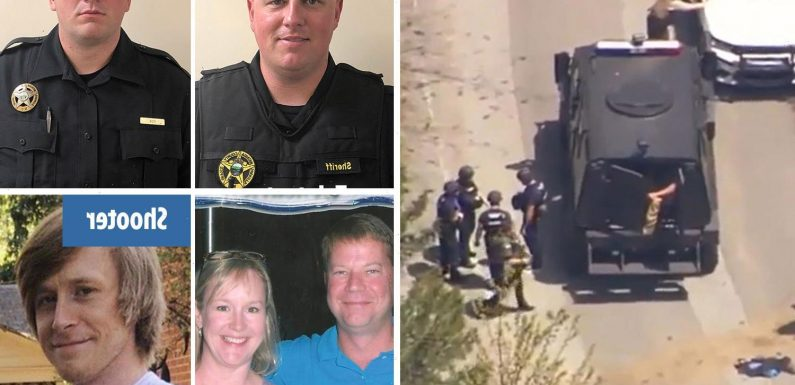 Family of gunman, 32, who killed his mom, stepdad, and two deputies had warned authorities he 'was having a breakdown'