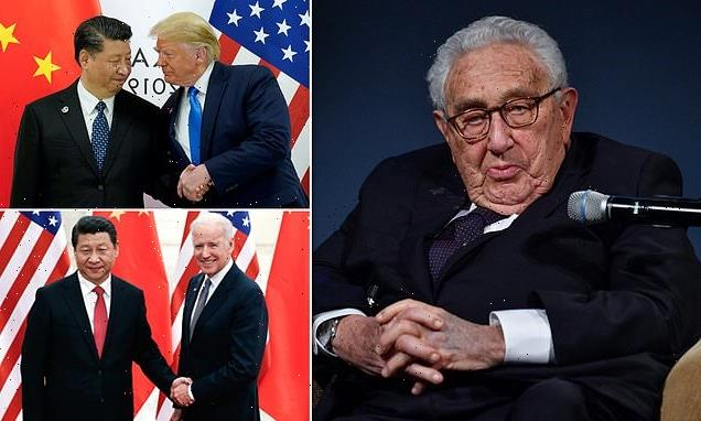 Henry Kissinger warns of 'colossal' dangers in US-China tension