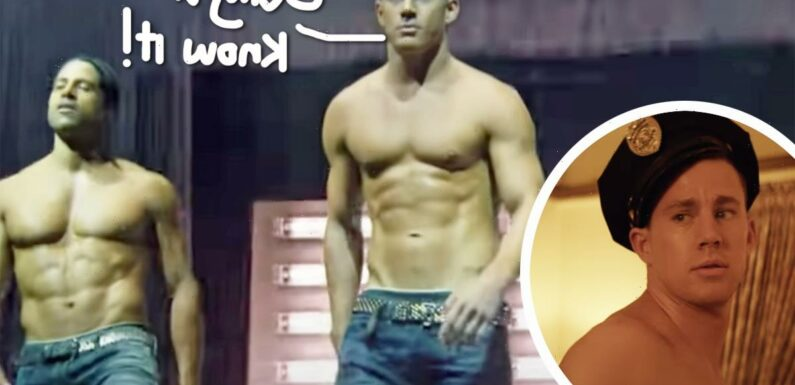 Here's The NSFW Reason Channing Tatum Works Out So Much!