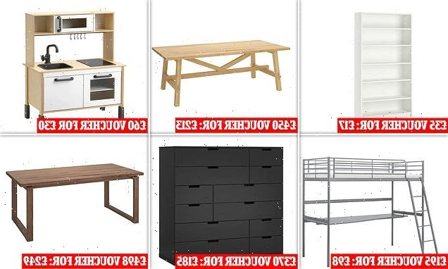 IKEA offers to buy back used furniture in exchange for vouchers