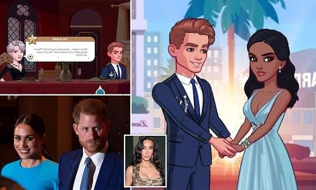 Kim Kardashian's new smartphone game features a prince and princess
