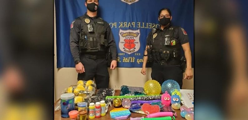 NJ police department's autism awareness project equips officers with sensory tool kits