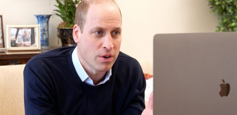 Prince William is taking part in the 'social media boycott' to protest racism in football