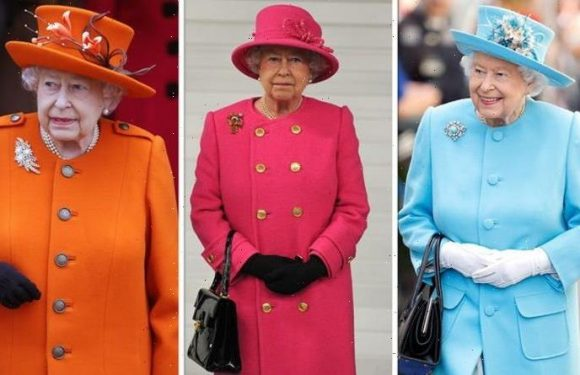 Queen may wear bright colours because they make her 'stand out' and 'lift her complexion'