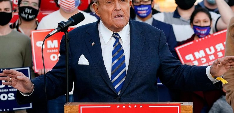 Rudy Giuliani slams 'fake news' after New York Times, NBC & Washington Post RETRACT stories following FBI raid on home