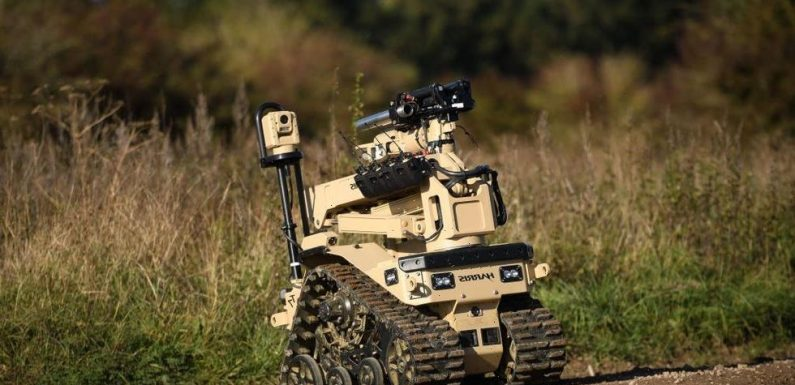 The Army Wants to Give Its Robots Living Muscle Tissue