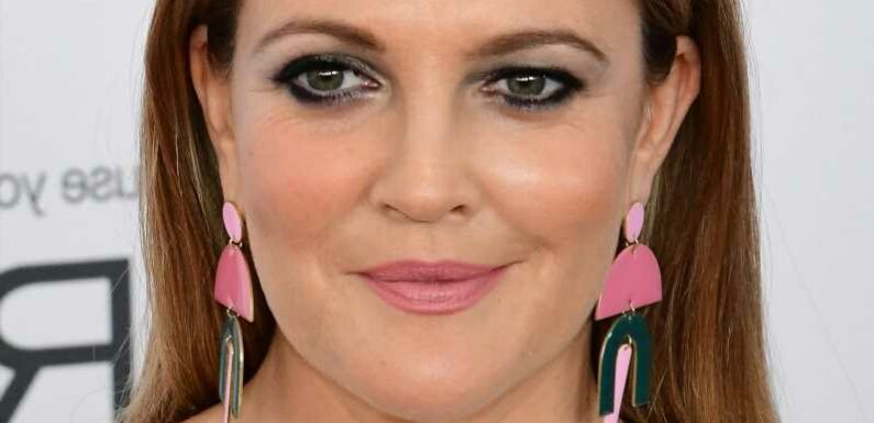 The Real Reason Drew Barrymore Cried Over Her New Tattoo