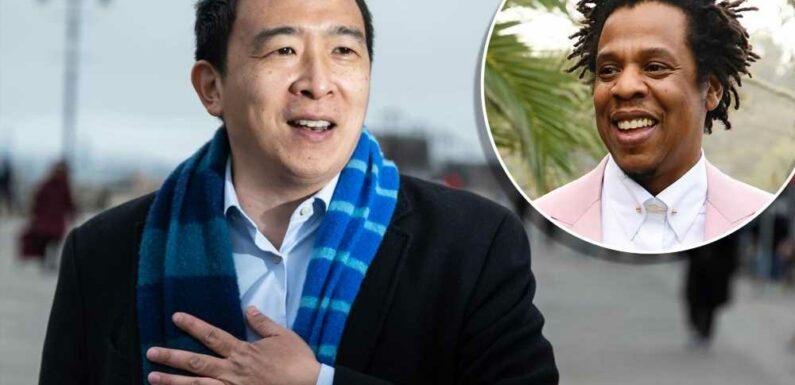 Yang struggles to name favorite Jay-Z song, names favorite billionaires
