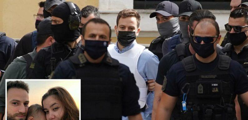 Caroline Crouch's husband arrives at court wearing bulletproof vest after confessing to murder as crowds hurl abuse