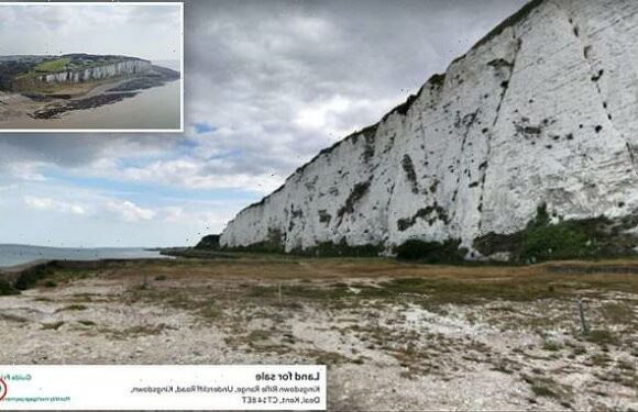 White Cliffs beach with a reserve price of a POUND sells for £192,101