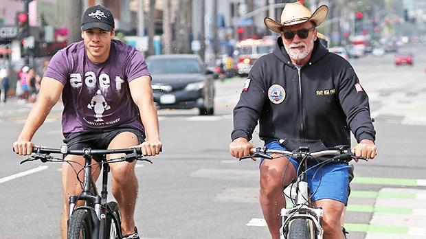 Joseph Baena Shows Love To Dad Arnold Schwarzenegger On 74th Birthday  See Look-Alike Photo