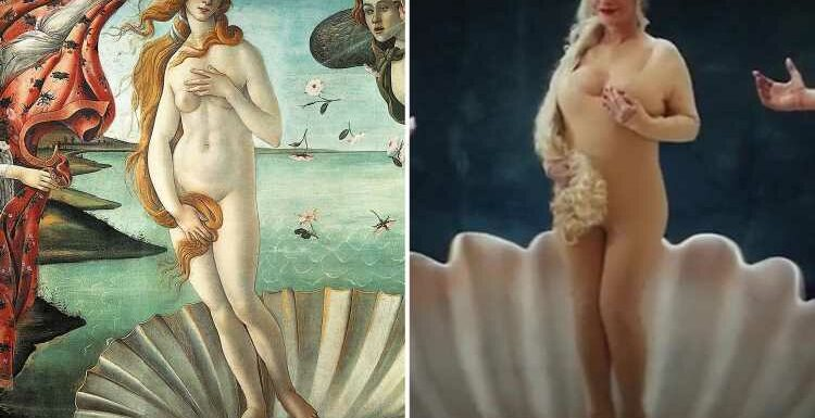 Pornhub sued by Italian art gallery for depicting Birth of Venus with 'naked' porn star
