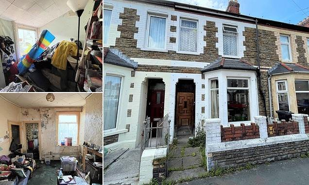 Three bed-home filled with junk and mess up for auction for £20,000