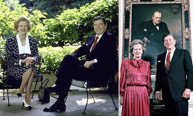 GEOFFREY WHEATCROFT examines friends Maggie Thatcher and Ronald Reagan