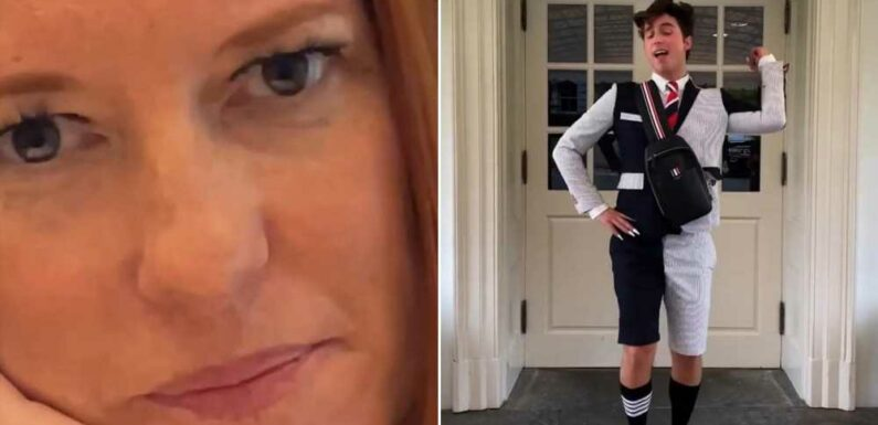 TikTok star parades around White House as 'intern' to boost vaccines