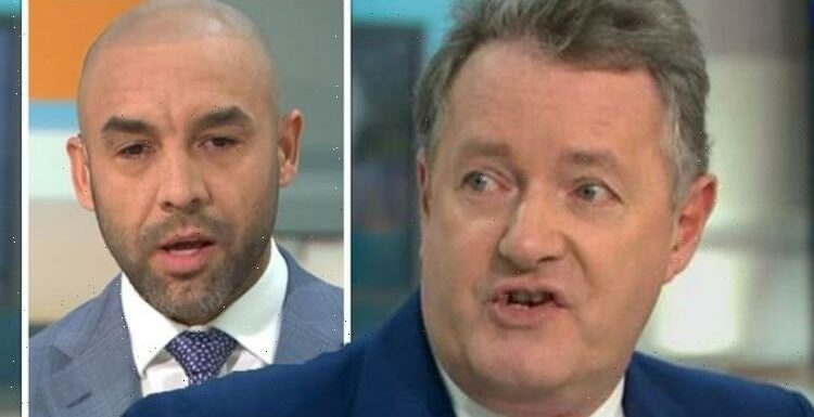 'Why would I bother?' Piers Morgan refuses to speak to Alex Beresford after GMB row