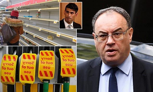 ALEX BRUMMER: Andrew Bailey's warning is alarm call in perilous times