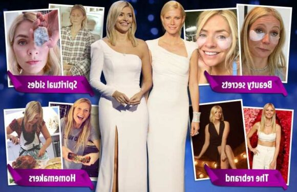 All the ways Holly Willoughby is turning into Gwyneth Paltrow as she builds on her multi-million pound fortune