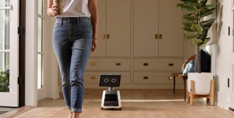 Amazon unveils 'science fiction' robot that can patrol homes