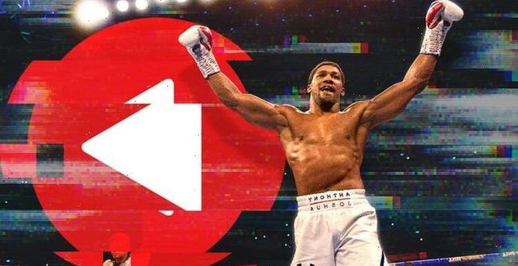 Anthony Joshua v Usyk free live stream warning: Why YOU could risk fines …and much worse