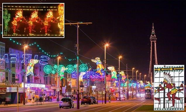 Blackpool light display accused of racism by Native American tribesmen