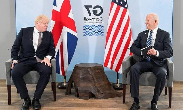 Boris Johnson will fly to the US TODAY to warn Joe Biden about climate