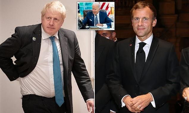 Boris says he wants to 'reach out' to France after AUKUS pact row