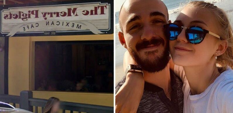 Brian Laundrie and Gabby Petito arrived at diner 'on foot without van' before fight with waitress, manager says