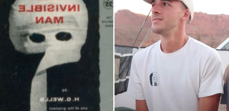Brian Laundrie was gripped by book called The Invisible Man that saw stalker fake suicide & torture girlfriend in film