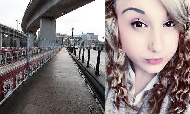 Call centre worker 'fell off bridge at prospect of returning to work'